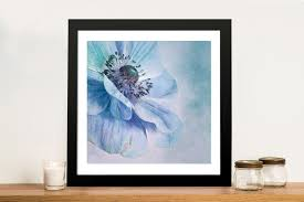 shades of blue floral photographic wall art print on floral wall art australia with shades of blue floral photographic wall art print australia
