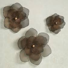 excellent metal flower wall art epic for home decoration ideas with