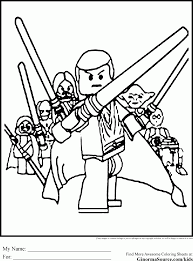 Small Picture Beautiful Star Wars Coloring Page Ideas New Printable Coloring