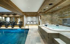 Luxury. the indoor pool ...