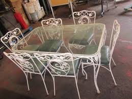 pin on vintage wrought iron patio furniture