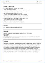 Resume For Nursing Job Application Nurse Cv Example Health Care 9 ...