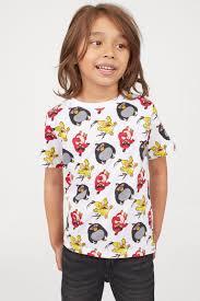 2 <b>футболки</b> с принтом - Красный/Angry <b>Birds</b> - Дети | H&M RU