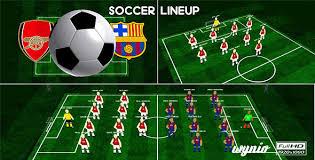 Soccer Lineups Soccer Team Lineups