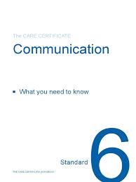 Standard 6 Cc Workbook1 Body Language Confidentiality
