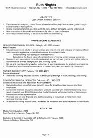 Loan Officer Resume Resume Ideas