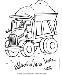 Dump Truck Coloring Pages Party Time Pinterest Coloring Pages