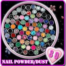 80 цвет / комплект ногтей акриловые <b>3D Nail</b> Art сливы <b>формы</b> ...