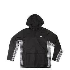 Mens Vans Off The Wall Distort Anorak Jacket Anorak Jacket