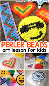 Cool Designs With Perler Beads Perler Beads For Kids Art Class Tips And Tricks Easy Peasy