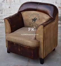 buclub leather armchair vintage single