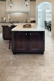 you can get the luxurious look of travertine for the cost of ceramic tile using tile kitchen floorsbathroom