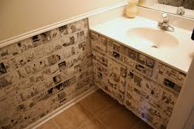 Unique Wall Coverings Bathroom Wall Covering Ideas 300 Bathroom Renovation Featuring