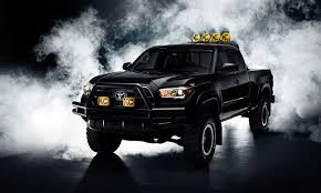 Futuristic Movie-Inspired Trucks : Black Pickup