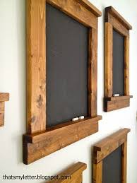 Teds Woodworking - Creating beautiful simple blackboards - great gift and  great for home. - Projects You Can Start Building Today