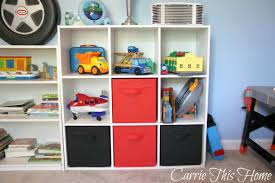 Tackle kids clutter by choosing furniture that gives all those toys a home.  This storage