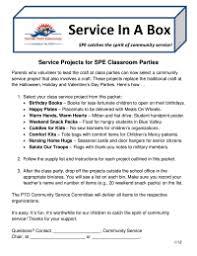 Classroom Community Service Project Ideas Pto Today