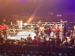 Boxing Seating Chart Barclays Center Barclays Center Section 8 Row 9 Seat 1 Shared Anonymously