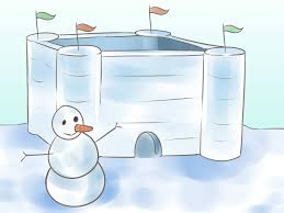 Easy Forts To Build How To Build A Snow Fort 11 Steps With Pictures Wikihow