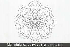 We did that to have a variety of mandala styles for you to choose from. Mandala Svg Bundle Split Mandala Half 11 Graphic By Alyviaskye Creative Fabrica