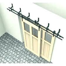 sliding door track kit closet door tracks closet sliding door track closet door repair bi pass