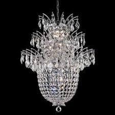 elegant lighting 5800d23c flora series crystal chandelier