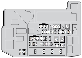 toyota prius third generation mk3 xw30 2010 fuse box diagram toyota prius third generation mk3 xw30 2010 fuse box diagram