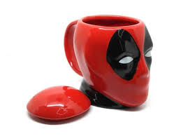 <b>Кружка Deadpool 3D</b> 400ml - ElfaBrest