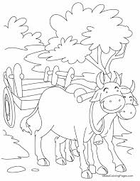 Small Picture Two smiling bulls coloring pages Download Free Two smiling bulls