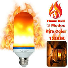 led flame light bulbs fire flicker effect lamp decorative led bulb with flickering 5w flame decorations