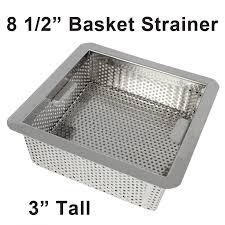 Stainless Steel Kitchen Sink Basket Strainer