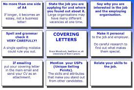How to write Covering Letters