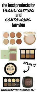 the best contouring makeup for fair skin beauty and the binky makeup