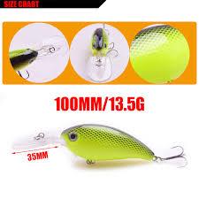 Crankbait Color Chart Us 1 02 38 Off Wdairen Wobbler Fishing Lure Big Crankbait Minnow Peche Bass Trolling Pike Carp Lures 7 Colors 14g 110mm Artificial Bait Wd 198 In