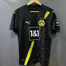 The colors are the same as those used in the previous seasons. 2020 21 Borussia Dortmund Away Short Sleeve Jersey Premium Quality Thailand Bangladesh Cricket Jersey Akasnil