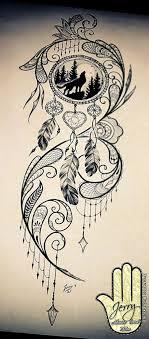Dream Catcher Tattoo Sketch View Designs Put Dreamcatcher Tattoo Unicorn Dream Catcher in 35