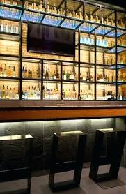 glass bar shelves uses waterproof led light bars with clear and colored glass bar shelves glass glass bar shelves