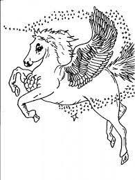 Kleurplaat Eenhoorn Kleur Dit Prachtige Mythische Dier 100 X