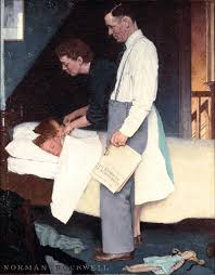 freedom from fear norman rockwell was a 20th century american painter and ilrator most famous for the cover ilrations of everyday life scenarios