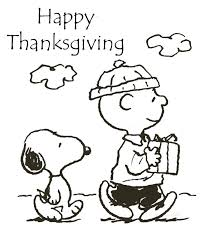 Small Picture Download Thanksgiving Coloring Pages Charlie Brown