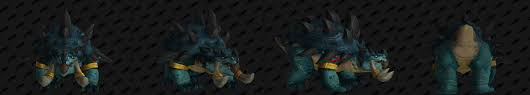 Troll Druid Color Chart Zandalari Troll Druid Forms Guides Wowhead