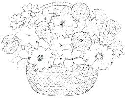 Flower Coloring Picture Simple Mandala Flower Coloring Pages Simple