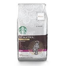 starbucks coffee bag dark. Wonderful Dark Starbucks Sumatra Dark Roast Ground Coffee 20Ounce Bag On Coffee A