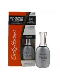 sally hansen diamond strength instant clear nail hardener