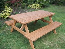 wooden a frame picnic bench 6 seater return to previous page lightbox