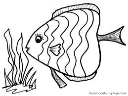 Small Picture Tropical Fish Coloring Pages Coloring Pages