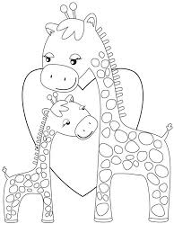 Printable Coloring Pages coloring page giraffe : giraffe coloring pages