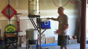 diy brewstand from recycled material