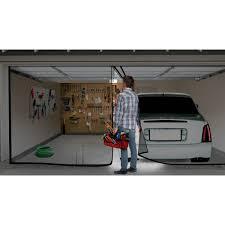 double garage door screen