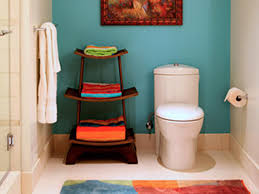bathroom decorating on a shoestring budget. perfect kb joe marshall guest bathroom blue.jpg.rend.hgtvcom.. has decorating on a shoestring budget b